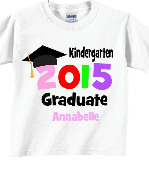 Kindergarten Graduate Shirts and Tshirts for Kids por TheCuteTee