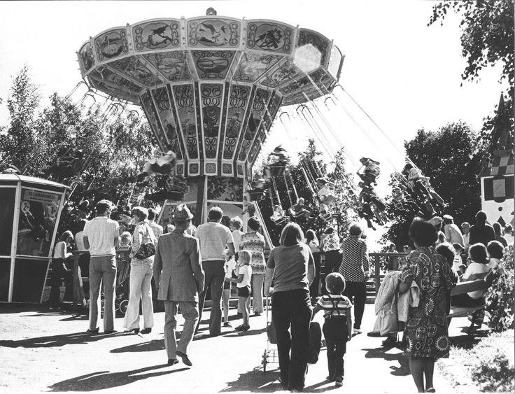 Ketjukaruselli 1977 #finland #helsinki #linnanmaki #summer #kesa #visitfinland #huvipuisto #amusementpark #nojespark #puisto #park #nostalgia