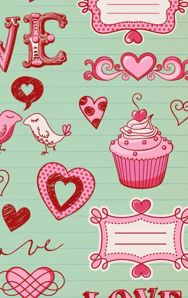 vintage cupcake wallpaper - photo #32