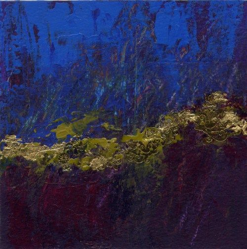 Cascade d'arabesques Acrylic Painting,Original Abstract Modern by Sam | Arabesque, Peinture ...