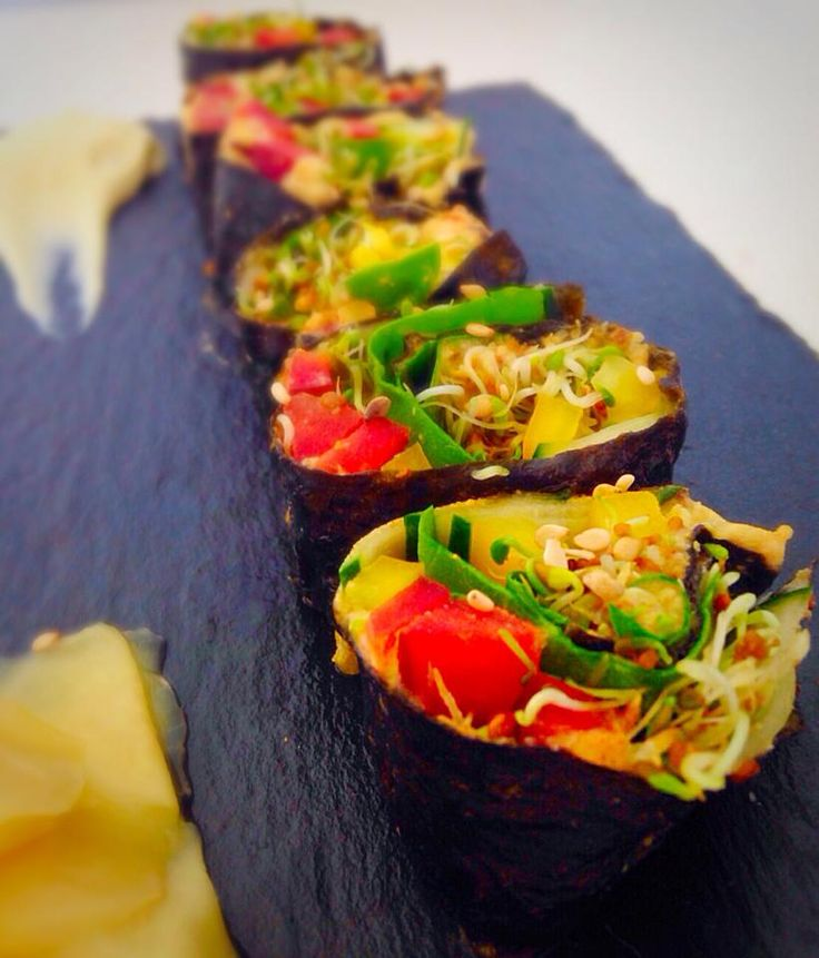A la rica alga…Sushi de verduras