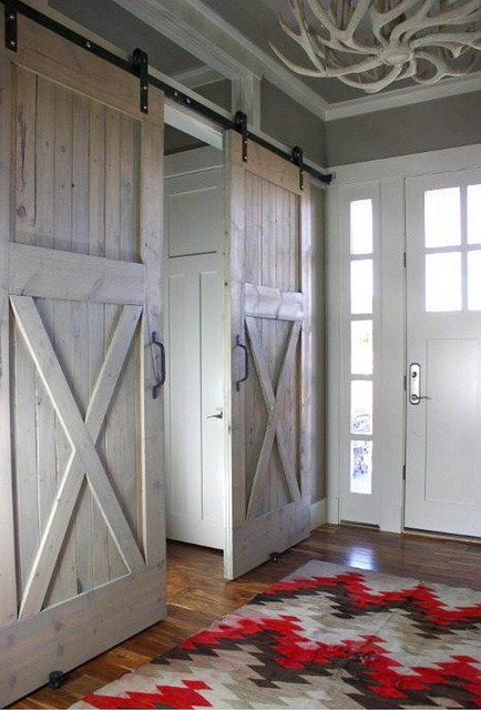 I really like this. Perhaps my children's animal-like acitivities is the appeal to bringing a barn indoors!