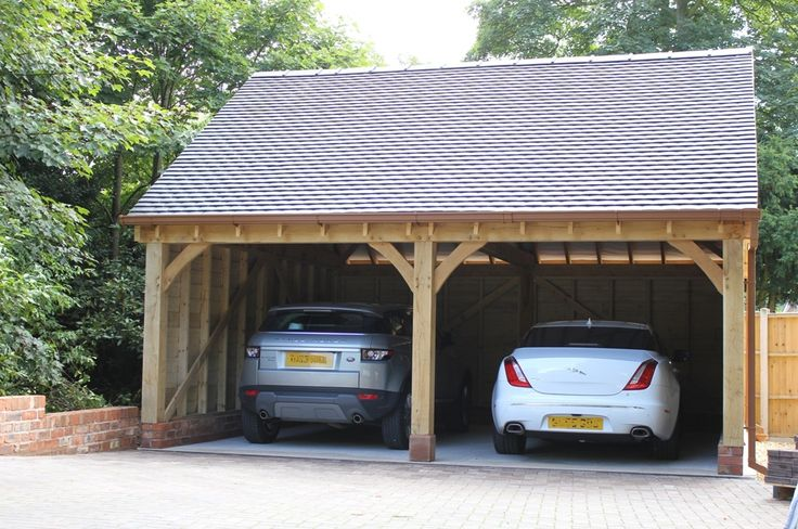 9 best 2 bay garages cheshire oak structures images on for 2 bay garage