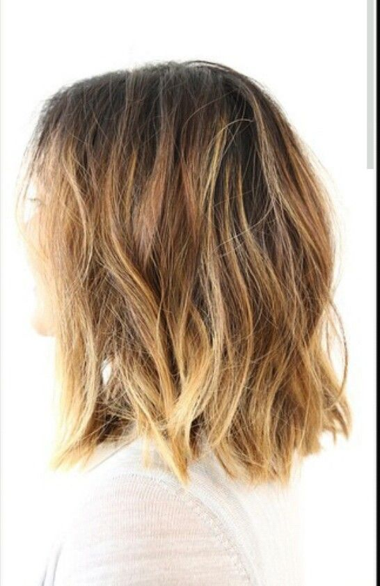 ... on Pinterest   Her hair, Collarbone length hair and Mid length hair