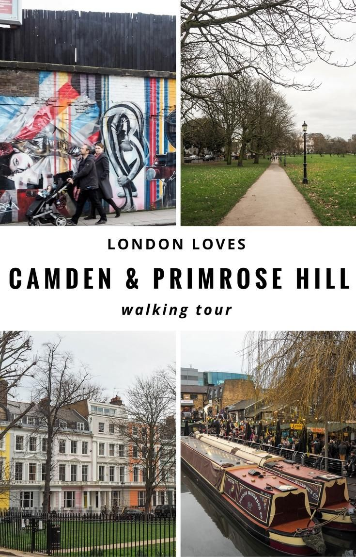 London: Camden and Primrose Hill walking tour with Unseen tours and Visit.org