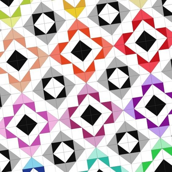 Quilt design drawn up in #touchdraw and under construction this coming week.