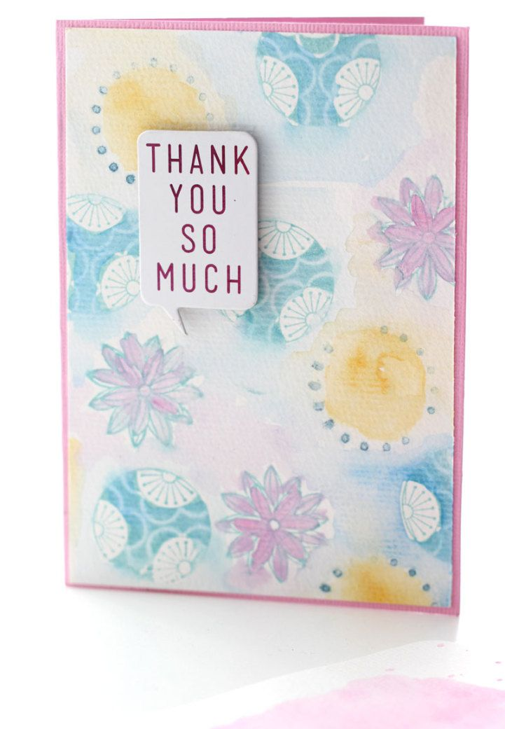 JOT TUESDAY TUTORIAL - card from Jot Girl Mardi Winen .. for Meghann Andrew's stamping/watercolour tutorial.