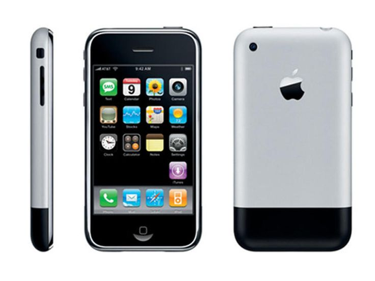 2007 - The first iPhone.
