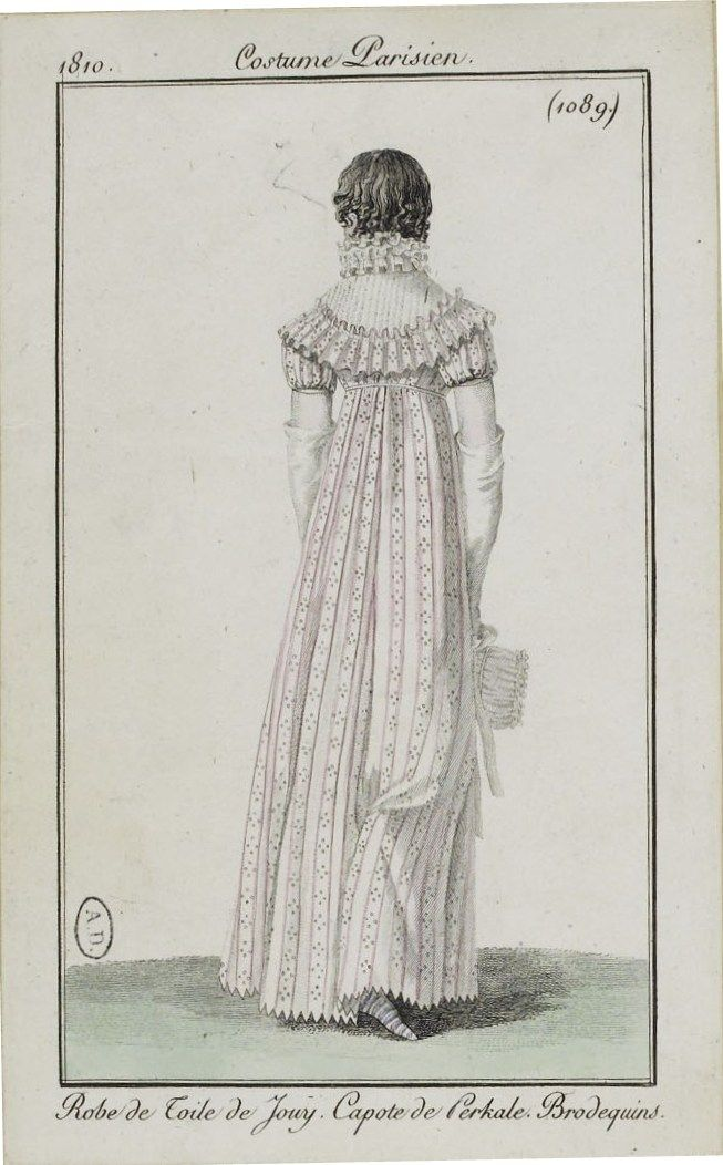 Costume Parisien (1089), 1810.