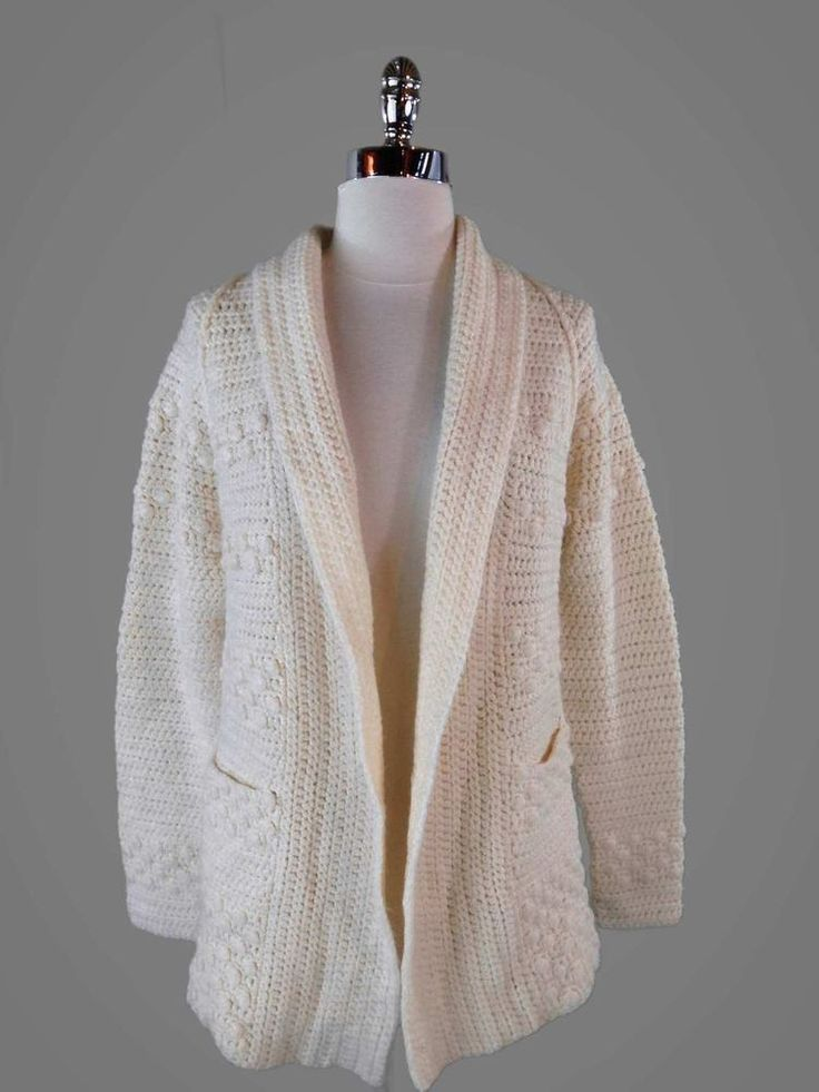 Vintage sweater // handmade gray geometric chunky knit jumper PqOGFY5
