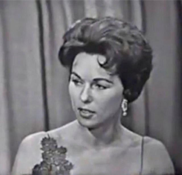 Bess Myerson - on What's My Line Panel - was Miss America 1945