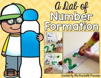 Looking+for+a+fun+way+to+teach+number+formation+to+your+students?+This+no-prep+packet+contains+two+sets+of+printables+to+practice+number+formation+for+numbers+1-10.+Just+print,+grab+some+bingo+dabbers,+and+you're+ready+to+go!+Students+will+use+the+bingo+dabbers+to+trace+the+numbers+on+the+page.These+pages+are+great+for+small+group+work+or+a+fun+remediation+activity.