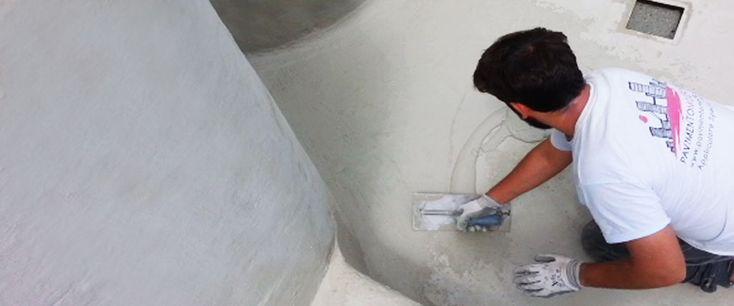 rivestimento piscine in cemento armato