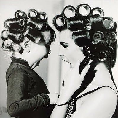 Curler queens: Rollers, Little Girls, Mothers Day, Mothersday, Photo Ideas, Mothers Daughters, Pictures, Hair, Photography