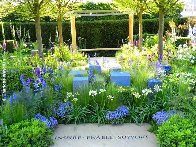 the galloping gardener rhs chelsea 2014 peoples choice garden hope on the horizon for help for heroes