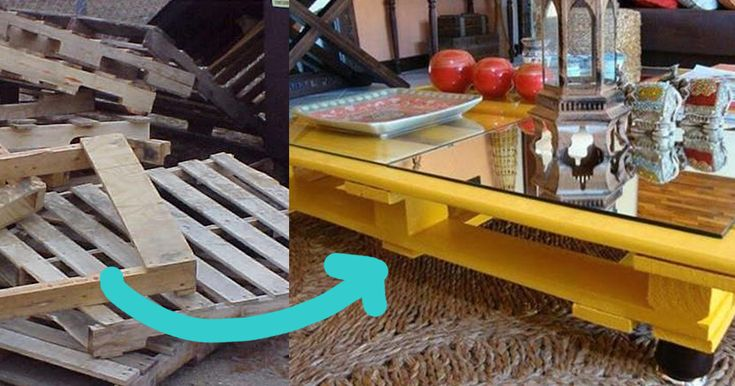 Amazing DIY Projects To Upcycle FREE Wooden Pallets