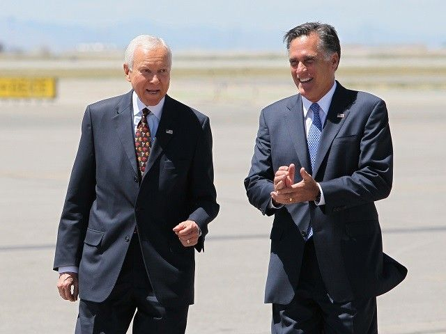 Floodgates Open: McConnell Ally Orrin Hatch Refuses to Deny Retirement Plans Report as Carpetbagger Mitt Romney Plots Senate Bid
