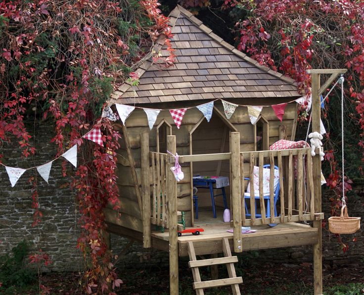 Children's Tree Houses & Playhouses | Squirrel Design