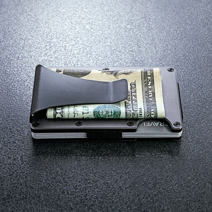 Ridge Wallet Carbon Fiber Wallet + Money Clip