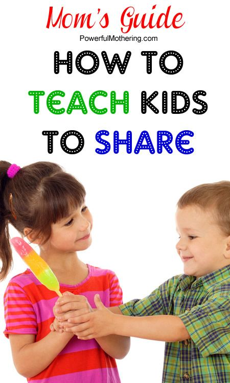 Moms Guide to teaching kids to share. Toddlers have a hard time sharing. Here are a few tips to help you teach this.