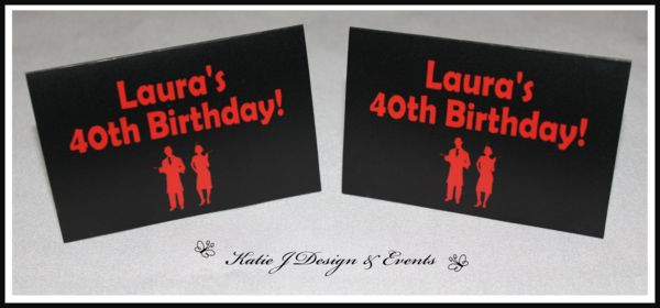 Place Cards #1920s #Gangster #Fapper #18th #21st #30th #HensNight #BacheloretteParty #ladies #PartyDecorations #Heels #Martini #GirlsNightOut #Hens #Night #Bachelorette #Divorce #Birthday #Bunting #Party #Decorations #Ideas #Banners #Cupcakes #WallDisplay #Wine #Labels #PartyBags #Invites #KatieJDesignAndEvents #Personalised #Creative