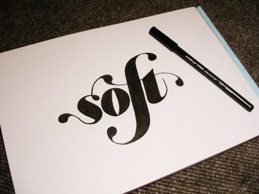 30 Mindblowing Hand Lettering Examples   TutorialChip