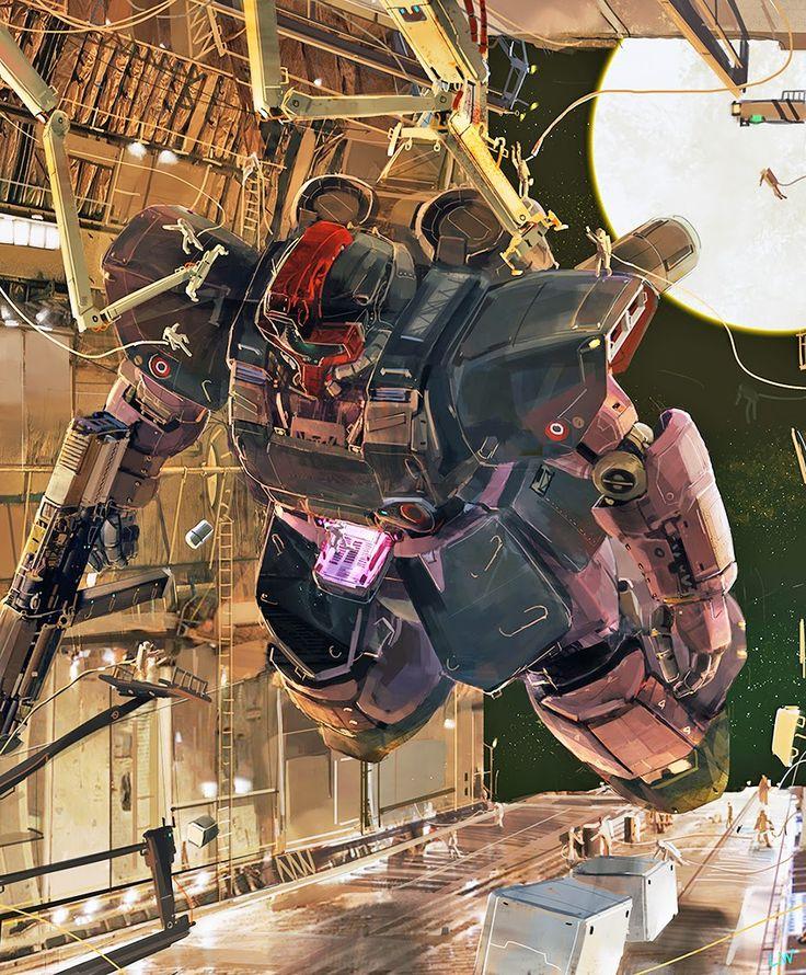 GUNDAM GUY: Awesome Gundam Digital Artworks [Updated 1/9/15]