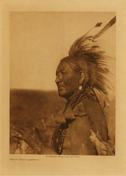 """Arapaho:  The Caddo (Toniibeenenno' or Toniibeeneseino' - """"pierced nose People"""") called the Arapaho 'Detseka'yaa', the Wichita's name for them was 'Nia'rhari's-kûrikiwa'ahûski', and the Comanche 'Saria Tʉhka' or 'Säretika' (Sata Teichas), all names meaning """"dog-eaters"""". To the Pawnee, Ute and other tribes they were also known as """"dog-eaters""""."""