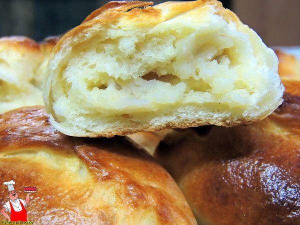 Пирожки с картошкой в духовке.