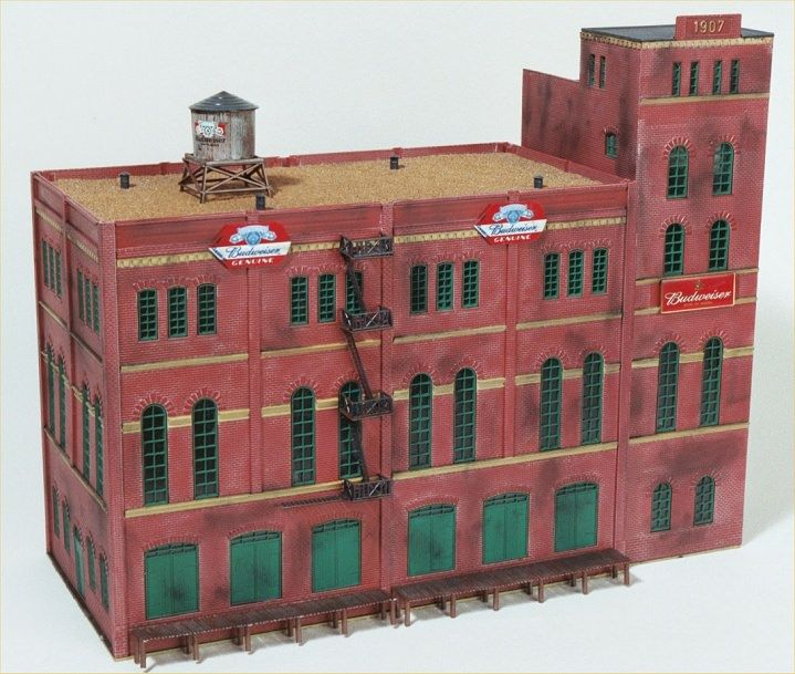 Brewery Malt House | Railroad Magic | Model trains, Model ...
