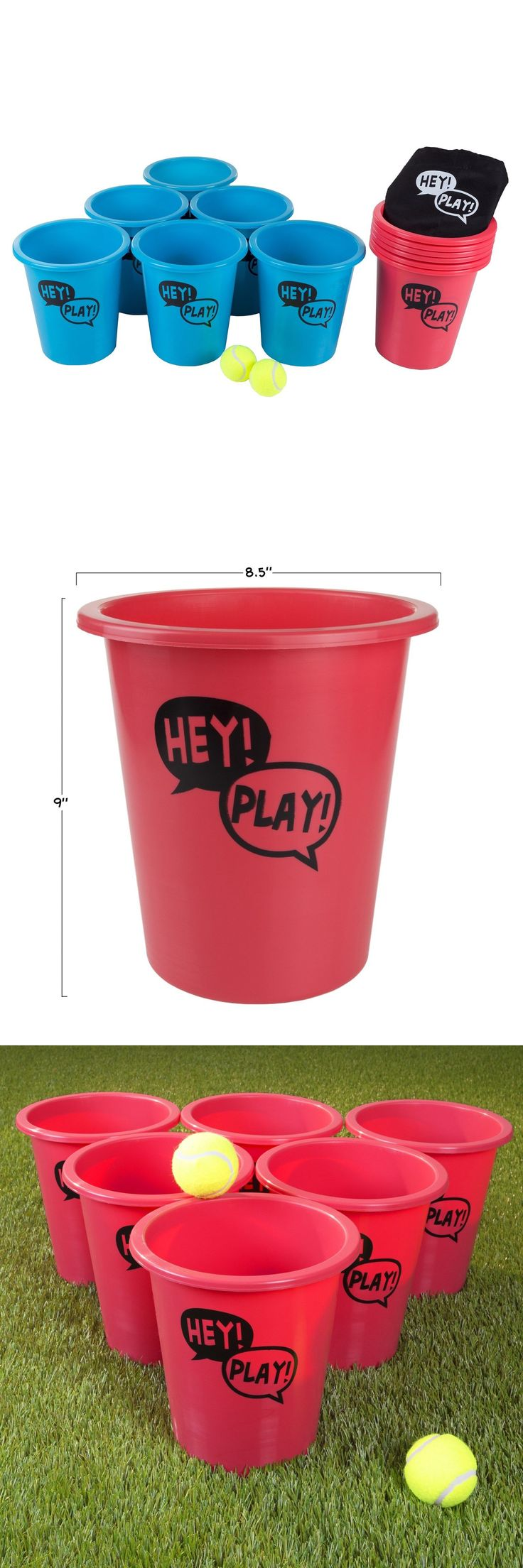 Other Backyard Games 159081: Bucket Ball Giant Beer Pong Game Table Lawn Drinking Beach Friendly Game -> BUY IT NOW ONLY: $32.99 on eBay!