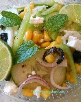 きゅうりとフェタの簡単ギリシャサラダのレシピ #きゅうり #フェタチーズ #グリークサラダ #ギリシャサラダ #レシピ
