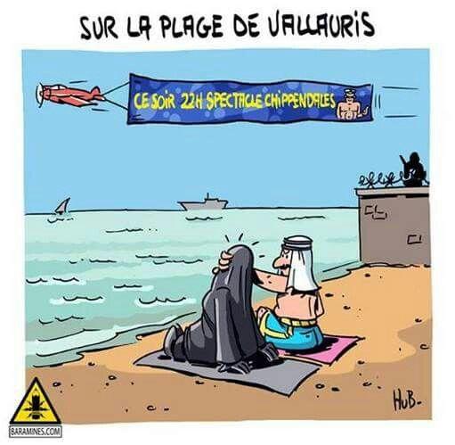 Vacances saoudiennes en France