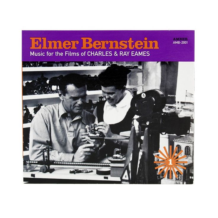 Great listening: Elmer Bernstein CD - Buy it Now in the Eames Shop