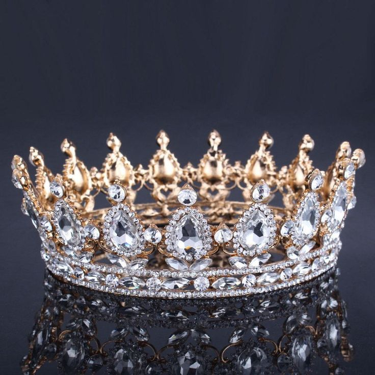 Bling Bridal Peacock Crystal Tiara Wedding Crown Bridal Rhinestone Pageant Queen King Crown