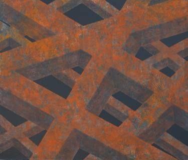 corten structure detail