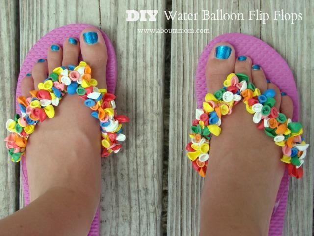 DIY Flip Flops : DIY Water Balloon Flip Flops Craft