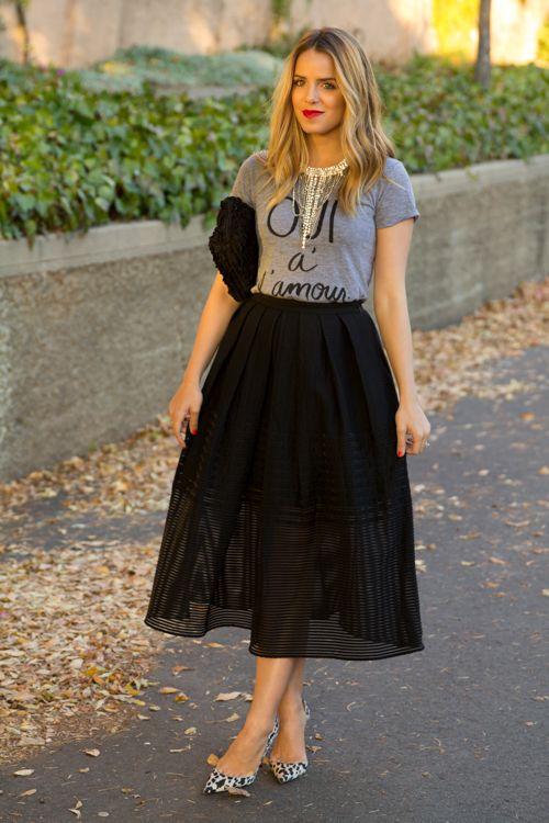 Best 25  Black skirts ideas only on Pinterest | Skater skirt ...