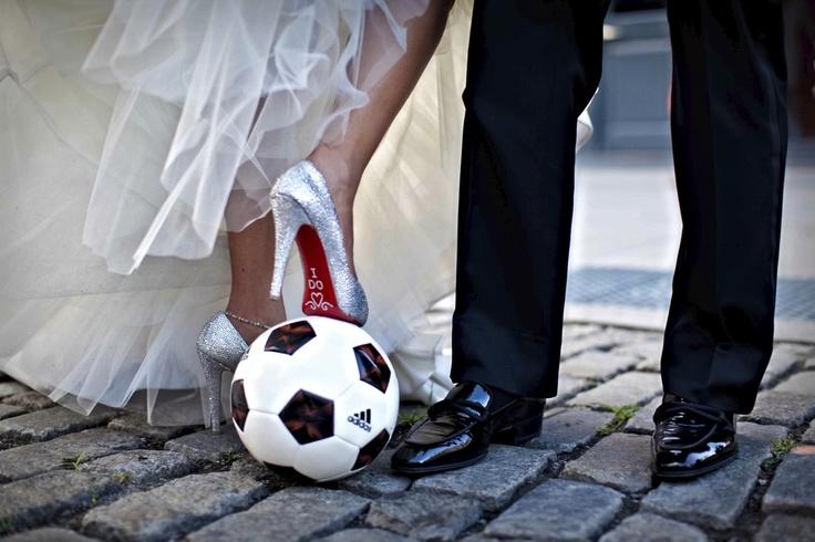 Das perfekte Motto für die Hochzeit zur WM...