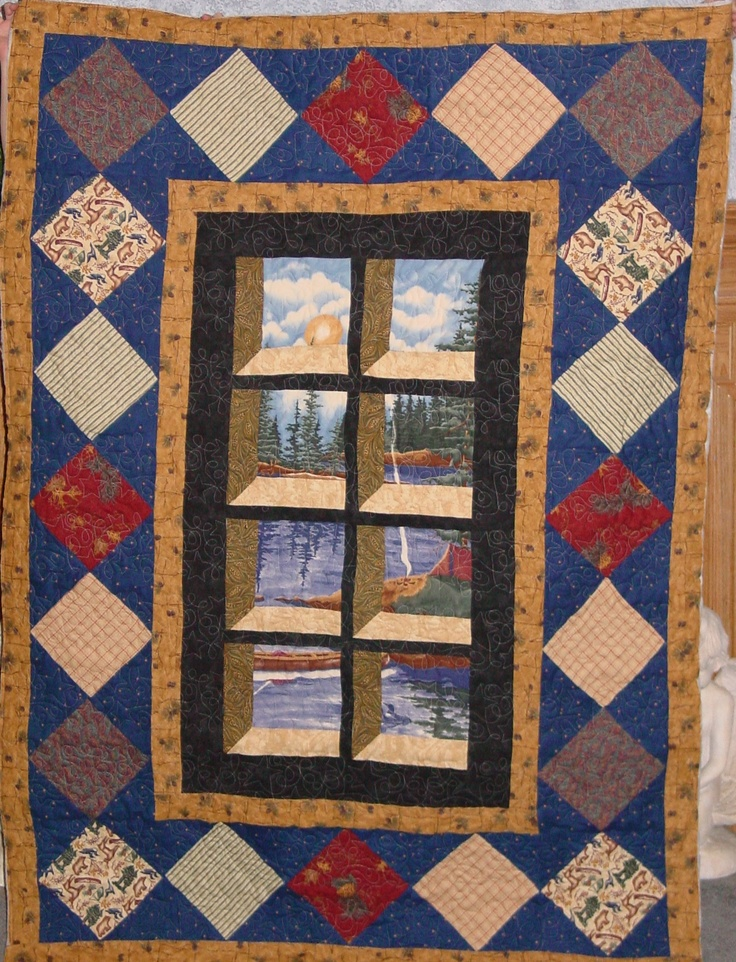 1000 images about quilts attic window on pinterest for Window quilt