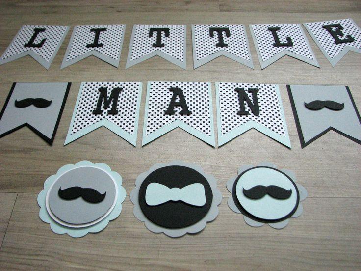 Ghirlanda Little Man Moustache Party