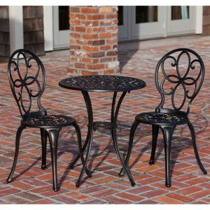 Elegant Small Space Patio Dining Sets On Hayneedle   Small Patio Furniture Sets