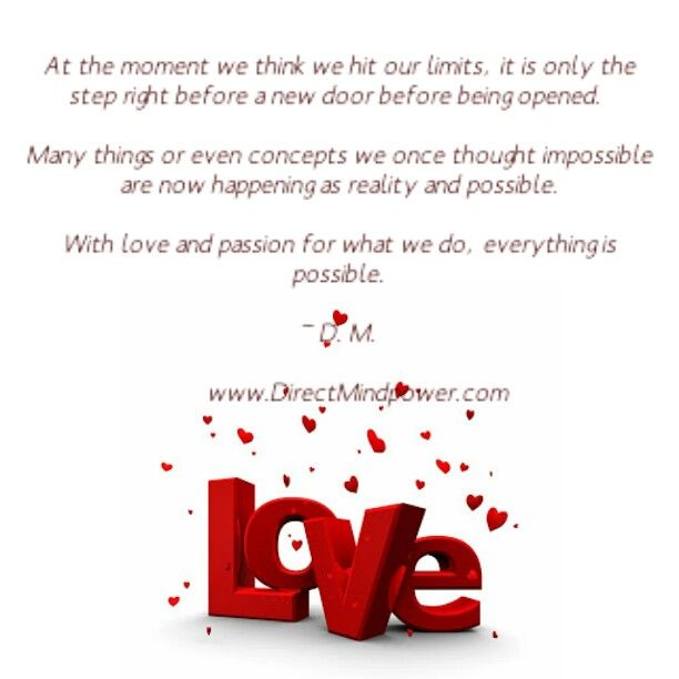 #Love #Passion #Possible
