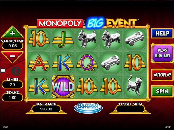 Monopoly Big Event - Gå rundt på brettet til den ikoniske Monopoly Big Event spilleautomat online! Velg et kort i Monopoly Big Event spilleautomat og vinn låste jokere, dansende jokere og garanterte gevinster.