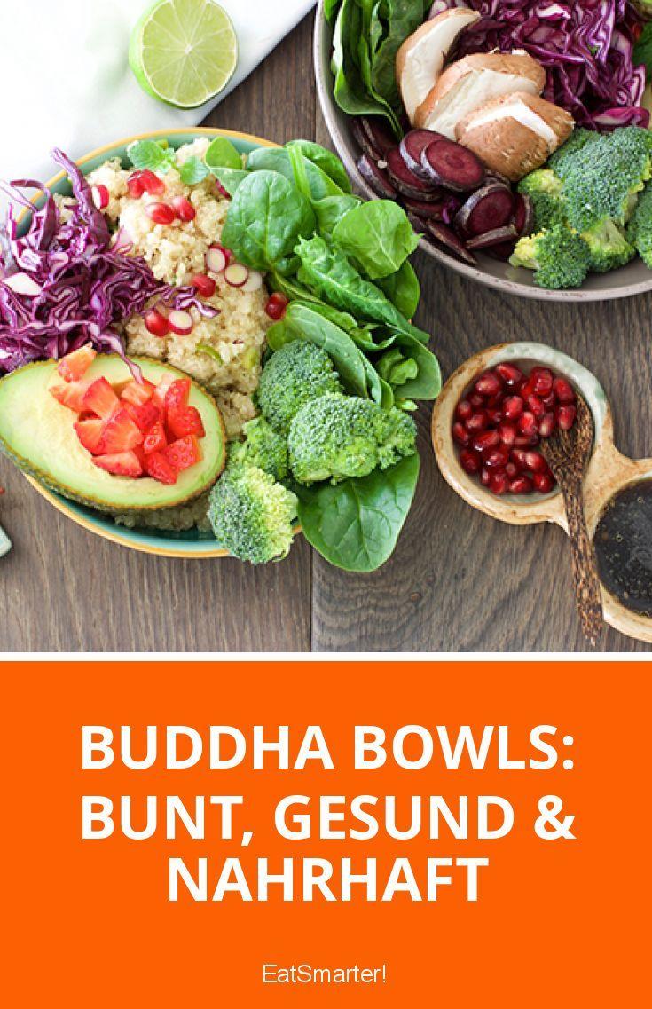 Sie sind bunt, gesund & nahrhaft: Buddha Bowls! Wie du die Schale voller Köstlichkeiten zubereiten kannst, verrät die Adaeze in ihrem Blog!