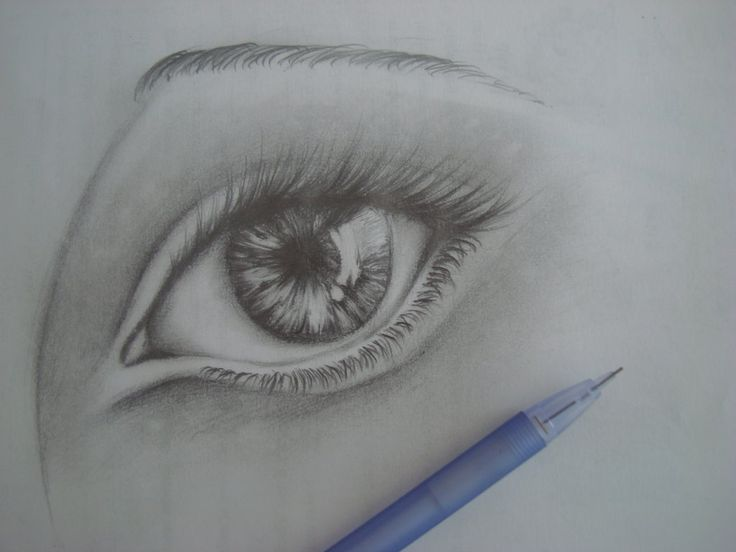 how to draw realistic tears