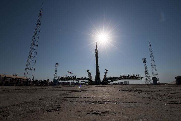 Expedition 52 Soyuz Rollout #NASA #ImageoftheDay