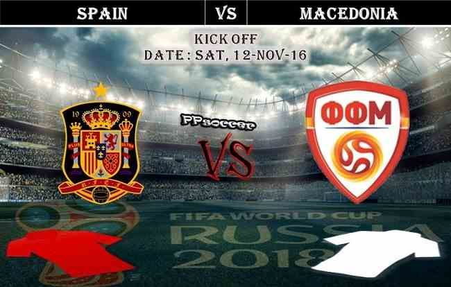 Spain vs Macedonia 12.11.2016 Predictions - PPsoccer