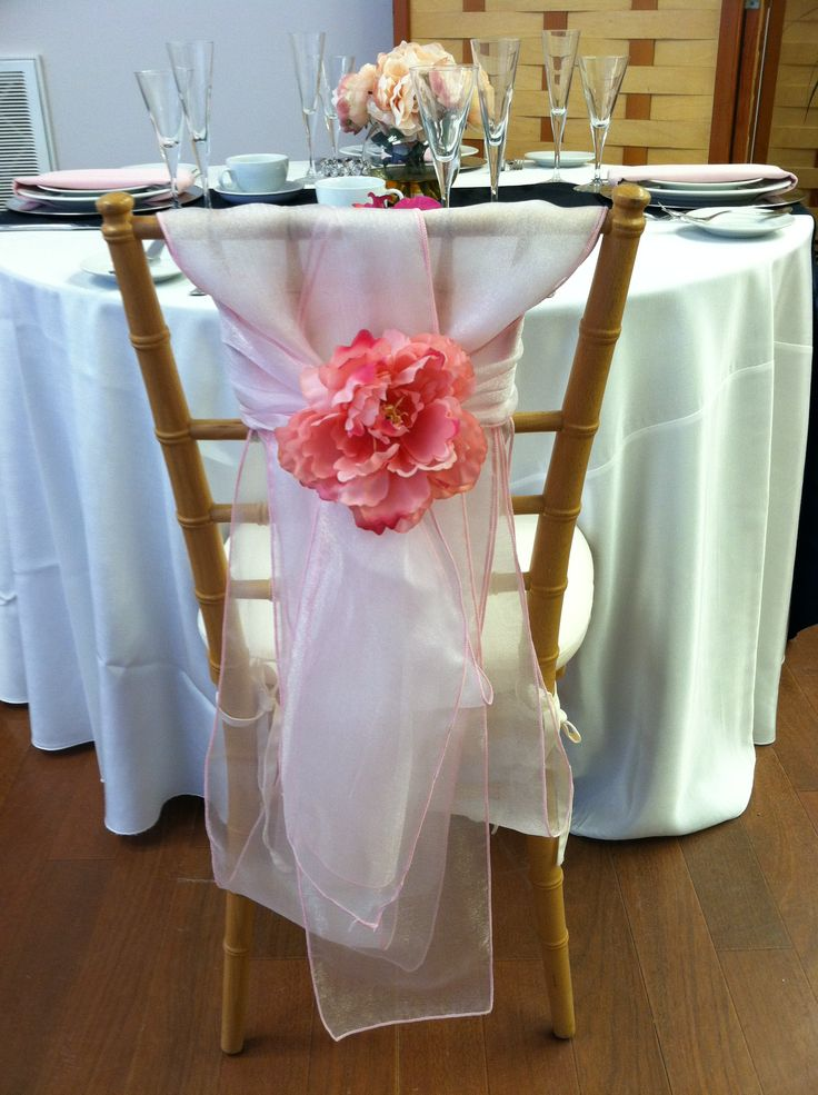23 Best Images About Chair Sash On Pinterest Dress Up