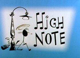 """MÚSICA CLÁSICA PARA NIÑOS: """"High Note"""" de Chuck Jones. Una manera muy divertida de acercar los signos musicales a los más pequeños."""